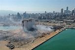 貝魯特大爆炸》主要穀倉也炸毀! 黎巴嫩存糧剩不到1個月 - 國際 - 自由時報電子報
