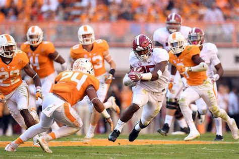 tennessee  alabama kickoff time tv channel
