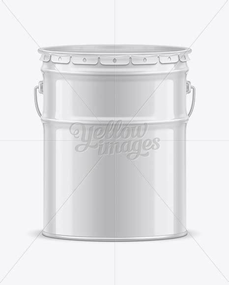 Posted in photoshop » banner & mockup template. 20L Tin Paint Bucket Mockup for Free in Free Mockups on ...