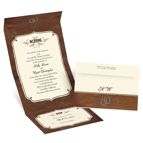 rustic wedding seal  send invitation invitations  dawn
