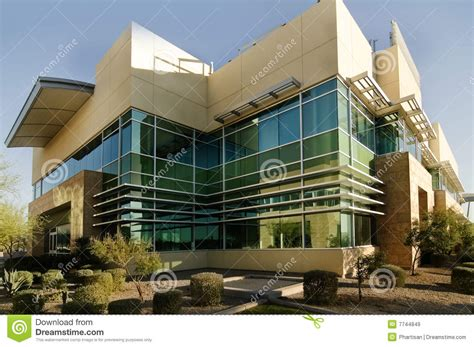Modern Looking Office Building Exterior Royalty Free Stock