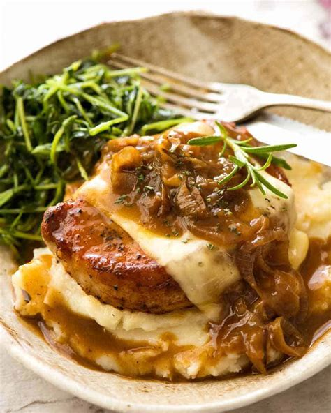 I had 2 thick butterflied pork chops and used an. Pork Chops Lipton Soup : Crock Pot Smothered Pork Chops Ingredients 4 Bone In Pork Chops 1 Oz ...