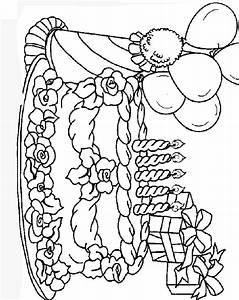 Dessin Gateau Anniversaire : des images de gateaux a colorier ~ Melissatoandfro.com Idées de Décoration