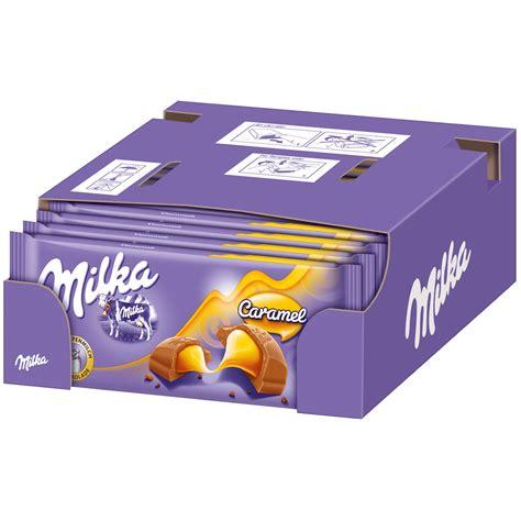 Milka Caramel 100g  Online kaufen im World of Sweets Shop