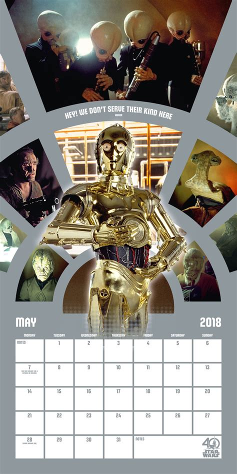 star wars anniversary calendars ukposterseuroposters
