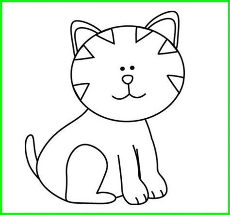 gambar animasi binatang hitam putih