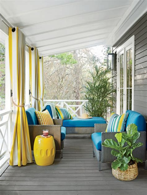 summer   front porch town country living