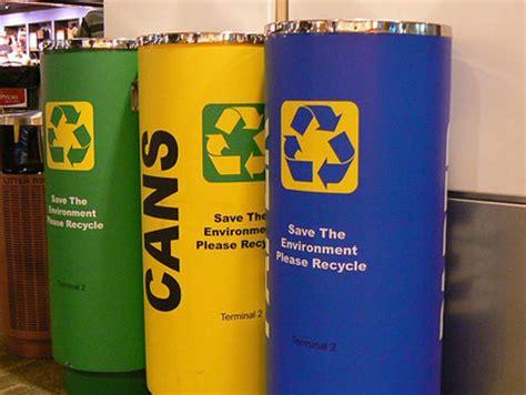 interesting recycle bins  world design swan