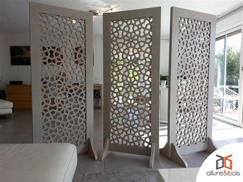 claustra bureau claustra d angle intérieur les modèles et bois