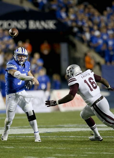BYU football plays sixth close game, beats Mississippi ...