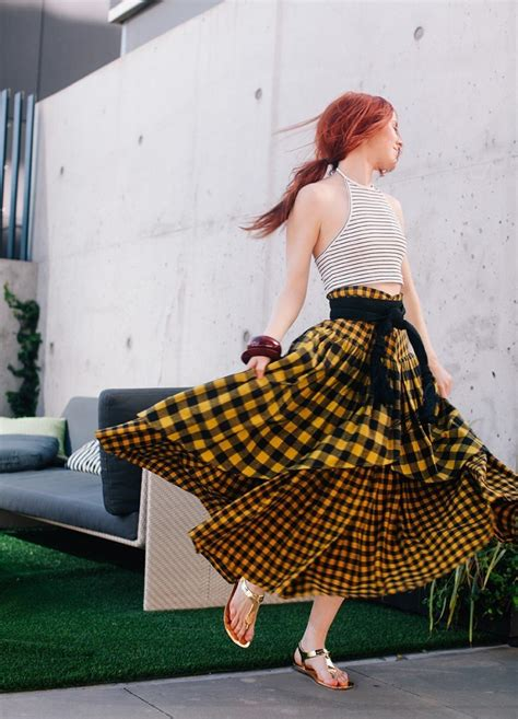 peasant skirt outfits  ways  wear peasant skirts rightly