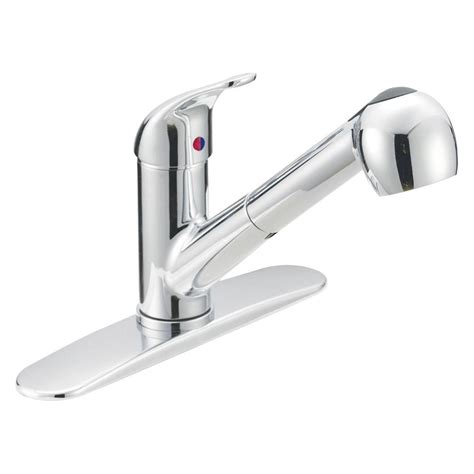 home depot kitchen faucets ez flo prestige collection 1 handle pull out contemporary
