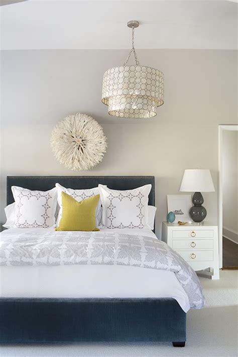 tiered capiz chandelier contemporary bedroom