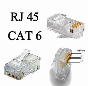 Fiche Rj45 Cat 6 : conectores rj45 cat6 bolsa x 200 und redes lan cableado ~ Dailycaller-alerts.com Idées de Décoration