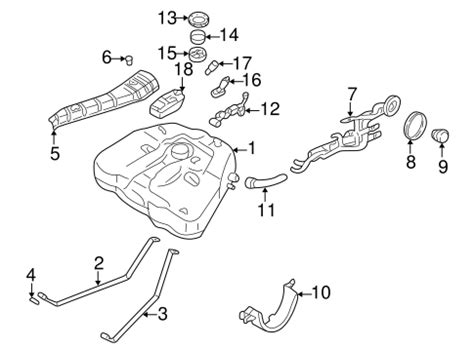 Fuel System Components For Nissan Altima Parts
