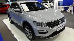 T Roc Gris Indium : 2018 volkswagen t roc 2 0 tdi 120 4motion exterior and interior salon automobile lyon 2017 ~ Medecine-chirurgie-esthetiques.com Avis de Voitures