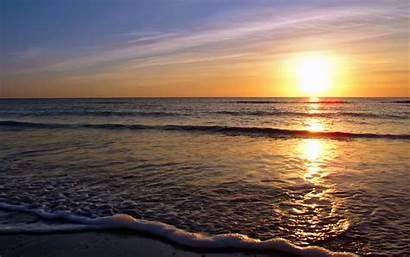 Sunset Beach Wallpapers Sunrise Cat Sunsets Sun