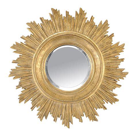 papier peint cuisine original miroir rond en résine soleil doré d 45cm boheme
