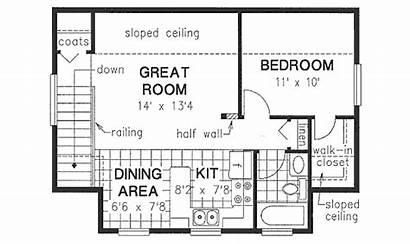 Garage Bungalow Bath Bed Houseplans Plans