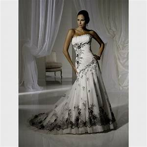 white red and black wedding dresses great ideas for With black wedding dresses cheap