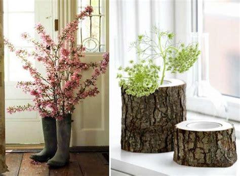 vasi per la casa idee fai da te per arredare con rami e tronchi foto 14 40