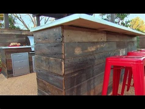 rustic outdoor kitchen youtube