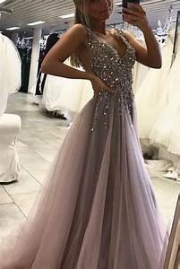 side split sleeveless tulle evening dress prom