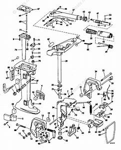 Evinrude Outboard Parts By Hp 7 5hp Oem Parts Diagram For