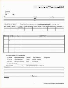 Letter Of Transmittal Example Engineering Report