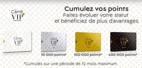 Carte Fidelite Casino by Programme De Fid 233 Lit 233 Le Carr 233 Vip Barri 232 Re Au Casino