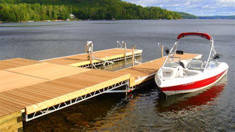 stainless steel floating r j machine custom built docks in peterborough 39 s