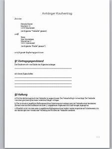 Kaufvertrag Küche Privat : kaufvertrag anhanger muster word ~ A.2002-acura-tl-radio.info Haus und Dekorationen