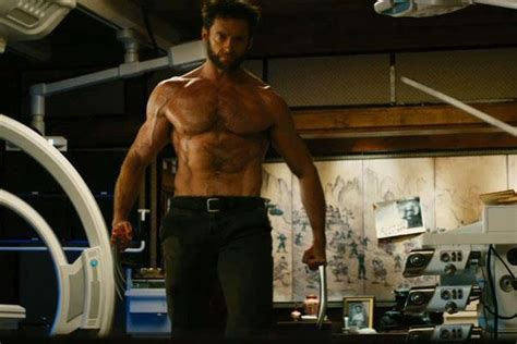 tom cullen workout the wolverine logan shirtless again