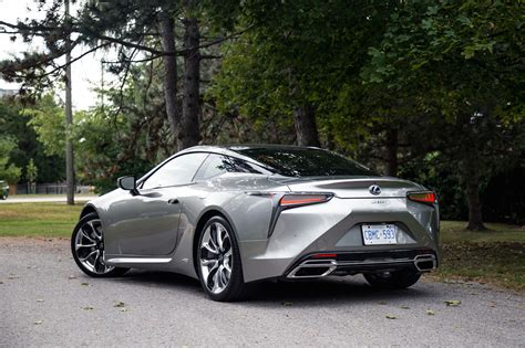 Review Lexus Lc by Review 2018 Lexus Lc 500h Canadian Auto Review