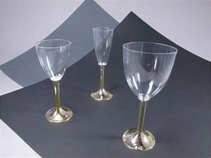 Verre A Vin Sans Pied : verre vin sans pied transparent decofete ~ Teatrodelosmanantiales.com Idées de Décoration