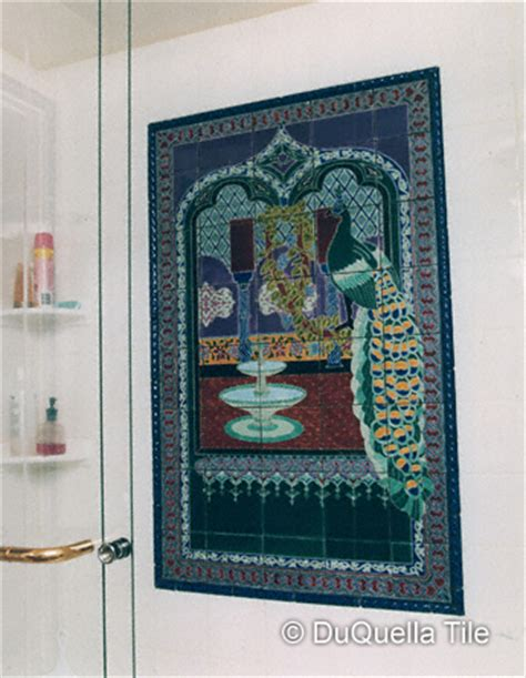 duquellatile handcrafted decorative tiles in arts and