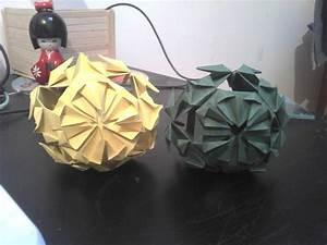 Origami Boule De Noel : boule no l origami ~ Farleysfitness.com Idées de Décoration