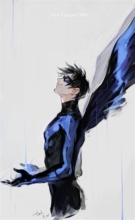 nightwing zerochan anime image board
