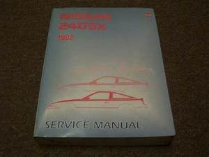 1992 Nissan 240sx Factory Shop Service Repair Manual Se Le