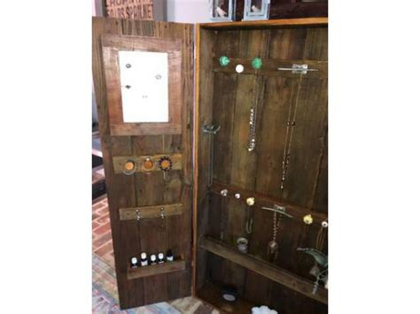 Used Jewelry Armoire For Sale by Used Rustic Jewelry Armoire For Sale In Jackson