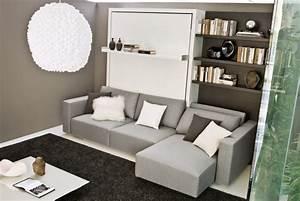 Lit Double Escamotable Ikea : lit escamotable mod le swing 2 esprit rangement ~ Melissatoandfro.com Idées de Décoration