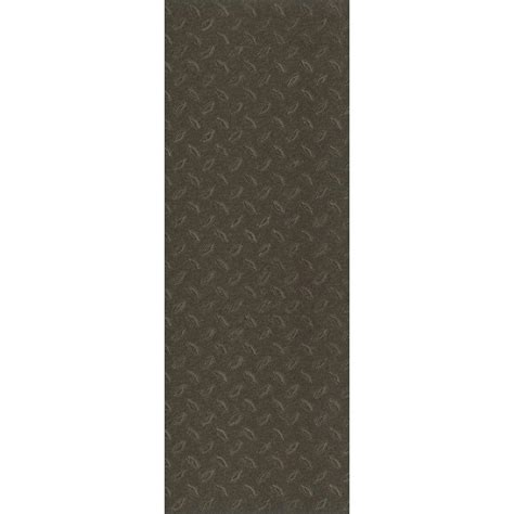 vinyl flooring 12 x 36 trafficmaster allure commercial 12 in x 36 in sted steel black vinyl flooring 24 sq ft