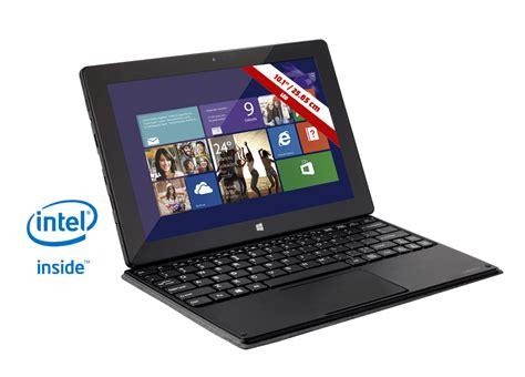 Tablet con teclado Wolder miTab IN 101, Intel Atom, 16GB Flash