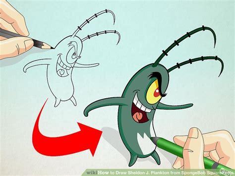 How To Draw Sheldon J. Plankton From Spongebob Squarepants