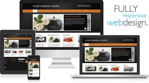 mobile marketing websites mobile responsive websites funeral results marketing