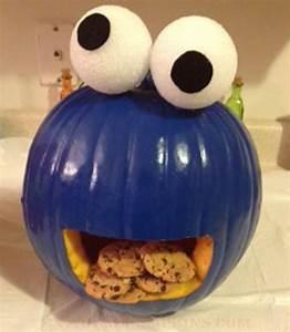 The Cookie Monster Pumpkin