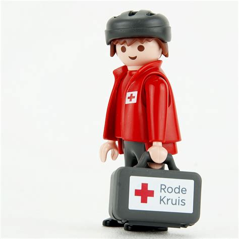 Playmobil 9445 - Rode Kruis-biker EHBO evenementen — EHBO