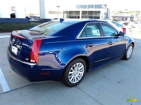 Cadillac Cts Blue by 2012 Opulent Blue Metallic Cadillac Cts 3 0 Sedan