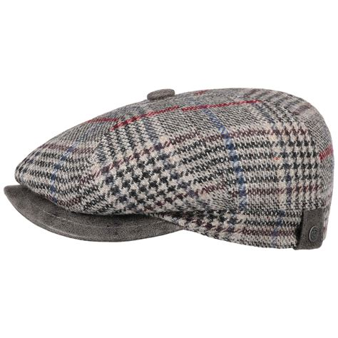 The tweed bugatti, with its earlaps that can be worn up or flapped down when the temperatures drop, is a timeless piece that embodies the utilitarian beauty and. 8 Panel Glencheck Flat Cap by bugatti - 83,95