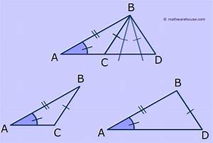 Angle Side Side Postulate Does Not Exist  Look At The
